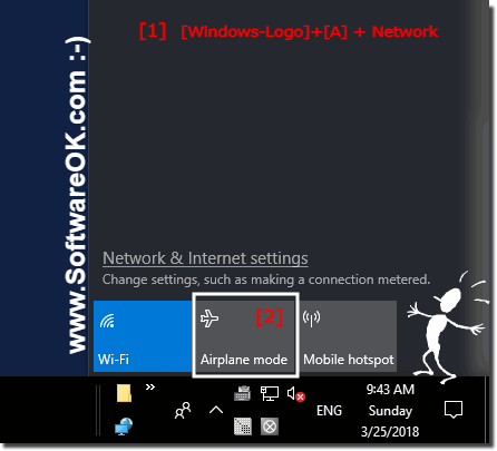 Disable Airplane Mode in Windows 10!