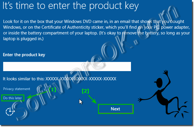Install Windows-10 without Product Key!