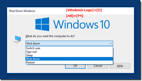 Prevent Windows 10 to open the windows at startup or login!