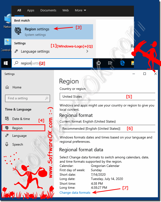 Region Settings in Windows-10!