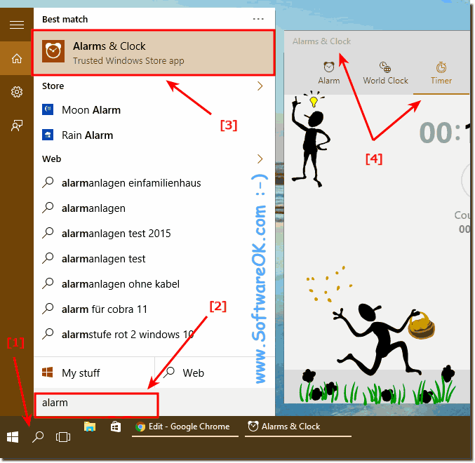 Set Countdown Timer in Windows 10!