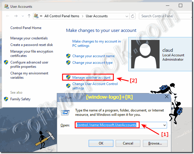 windows 10 how to administrator