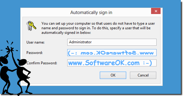 Auto login Windows 8 1, 8, and Windows-10 without password