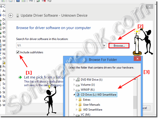 Browse my computer for driver software. On Windows 8.1 and 8