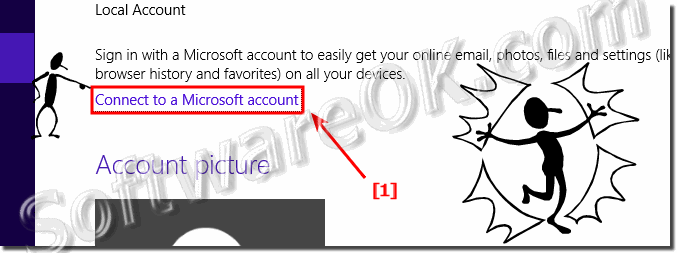 Connect to a Microsoft account in Windows 8.1!