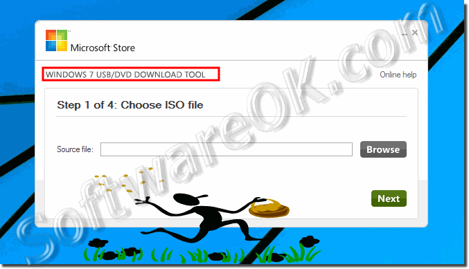Create Installation DVD from the Windows ISO file!