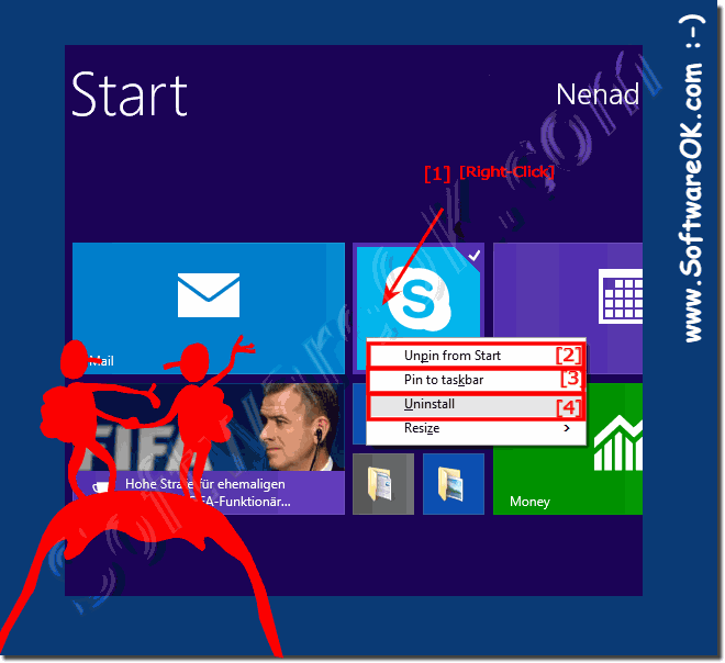 Uninstall or delete Windows 8 1 / 10 Applications