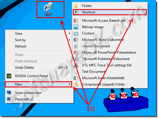 Desktop shortcut for windows fax and scan!