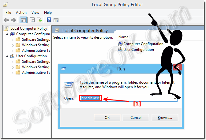 Find and Start Local Group Policy Editor in Windows 8.1, Seven and eight!