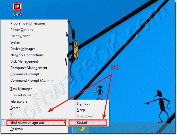 command prompt windows 8.1 restart