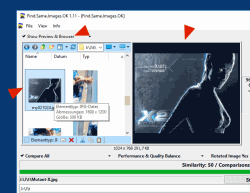 Find.Same.Images.OK 4 Comparison and Preview in Internal Explorer and Image Viewer