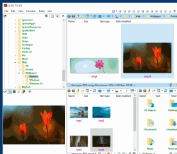 Really good quad explorer 4 files and folders