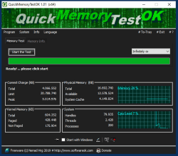 The fast RAM Test for Windows 10, 8.1, ...